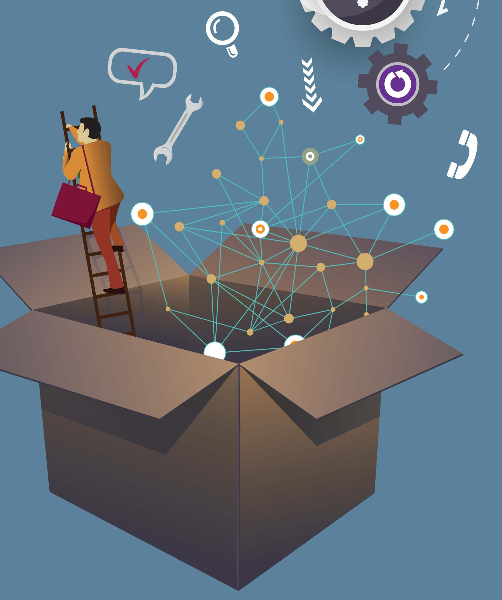 Genesis DISRUPT tools of disruption